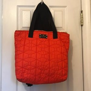 Kate Spade Quilted red tote